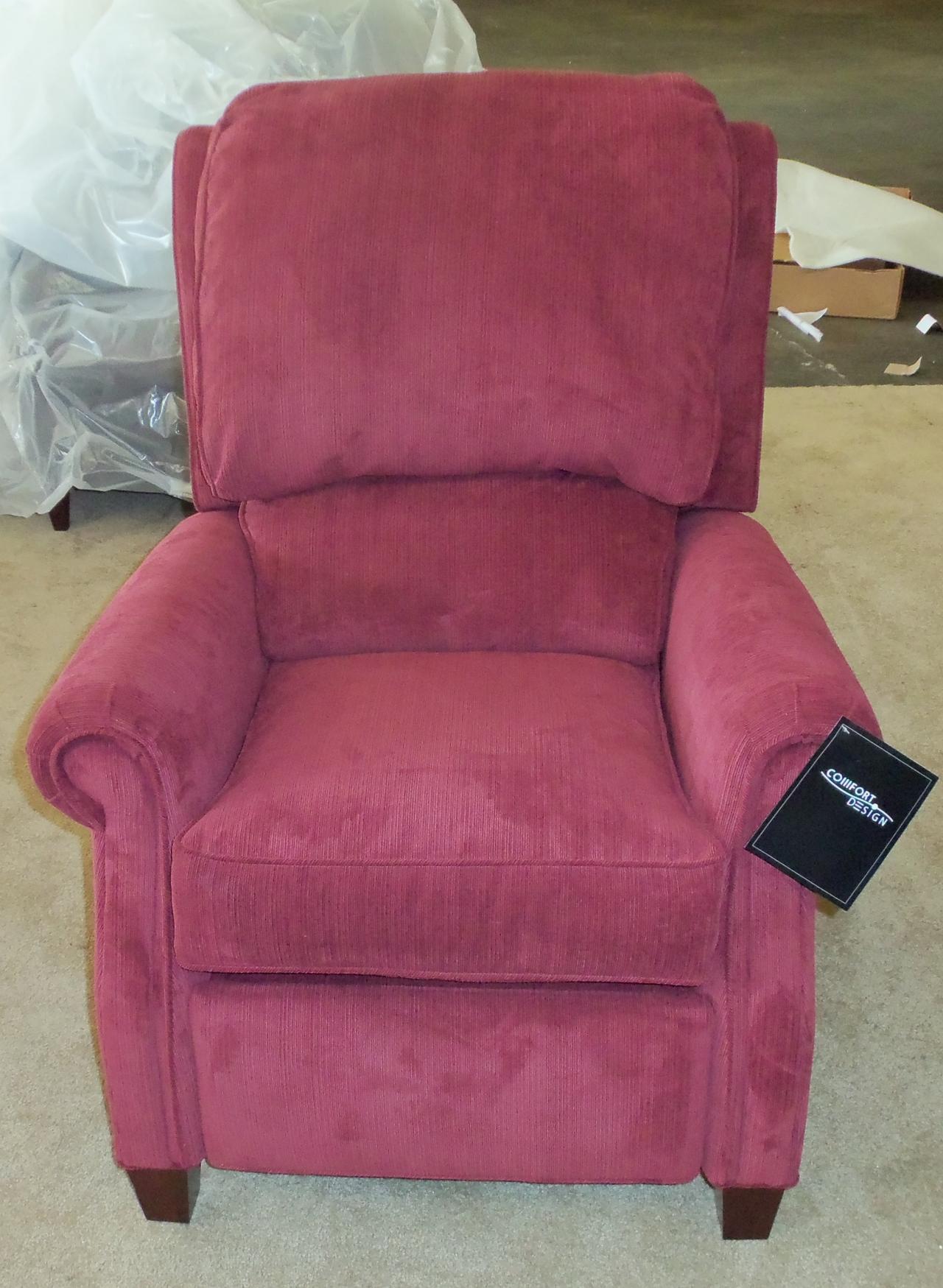 Barnett Furniture Comfort Design Martin Recliner