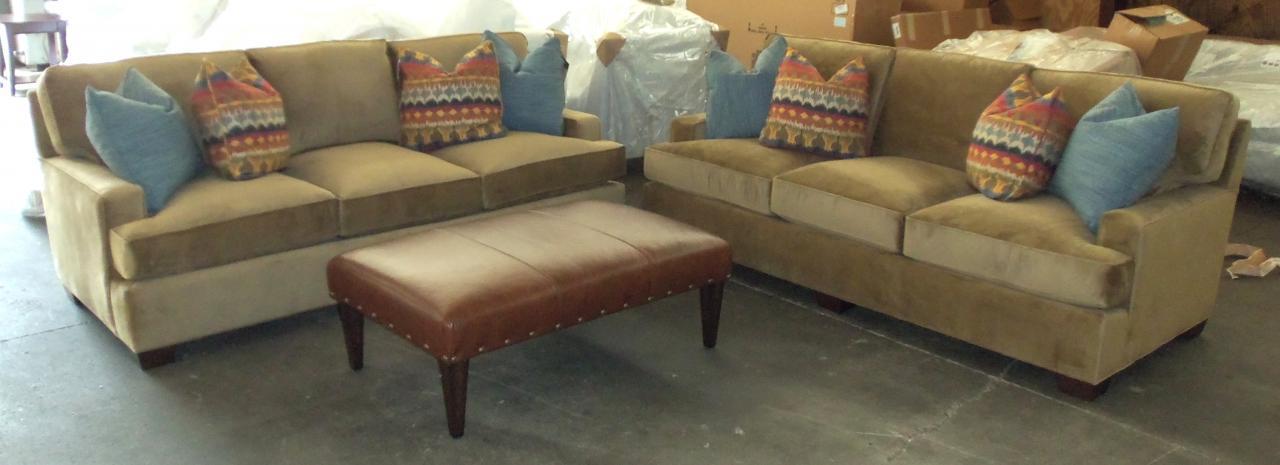 Barnett Furniture King Hickoryhenson Sofa