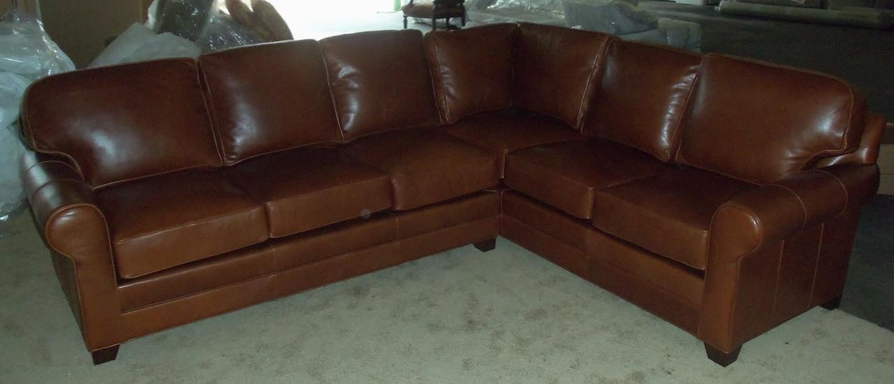 Click on the thumbnail to view the photos larger. : king hickory sectionals - Sectionals, Sofas & Couches