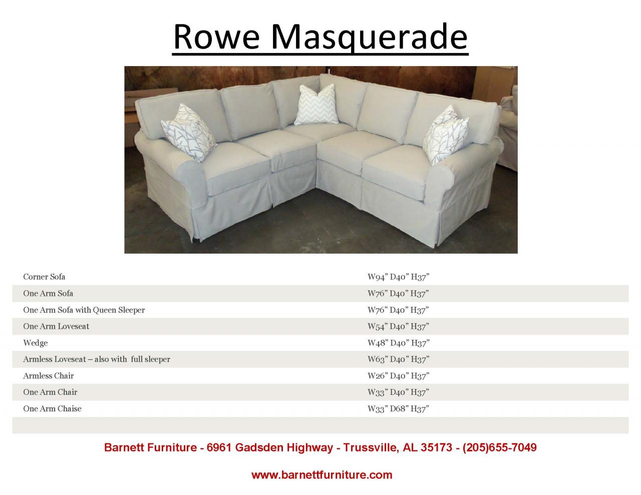 Barnett furniture slipcover sofas sectionals chair and ottoman - Choosing the best slipcover fabrics for your home ...